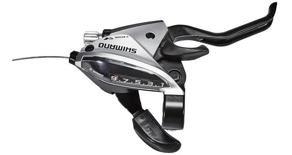 Shimano ST-EF510-2 Schalt-/Bremshebel HR 9-fach Schwarz/Silber